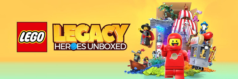 レゴレガシー:レゴのヒーローが勢ぞろい!攻略